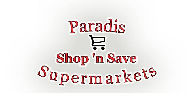 Paradis Shop n Save Logo