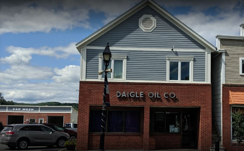 Daigle Oil Company Offices & Manual Car Wash 155 West Main Street, Fort Kent (Google Maps Image)