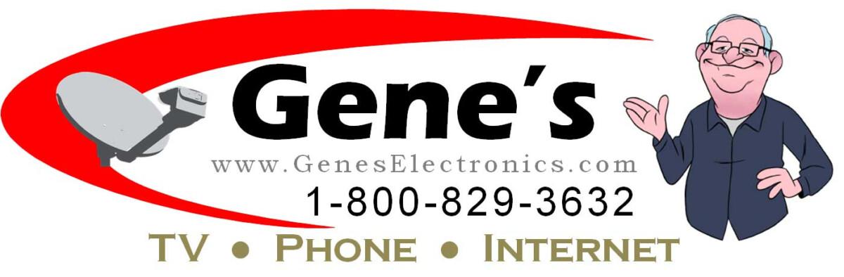 Gene's Electronics Logo