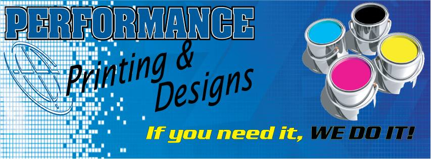 Performance Printing & Designs Logo