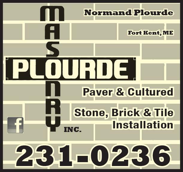 Plourde Masonry, Inc. Logo
