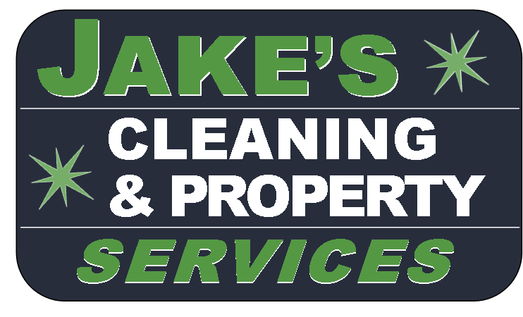 Jake's Cleaning Service sign