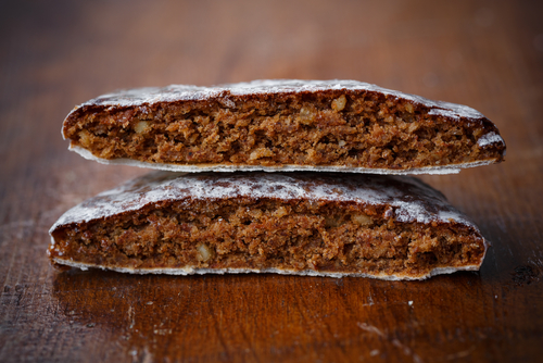 Lebkuchen for Rosh Hashana