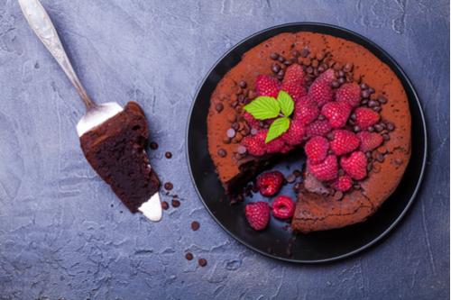 4-ingredient passover chocolate torte