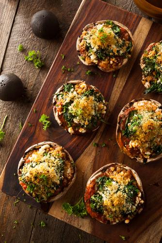 Spinach Stuffed Mushrooms