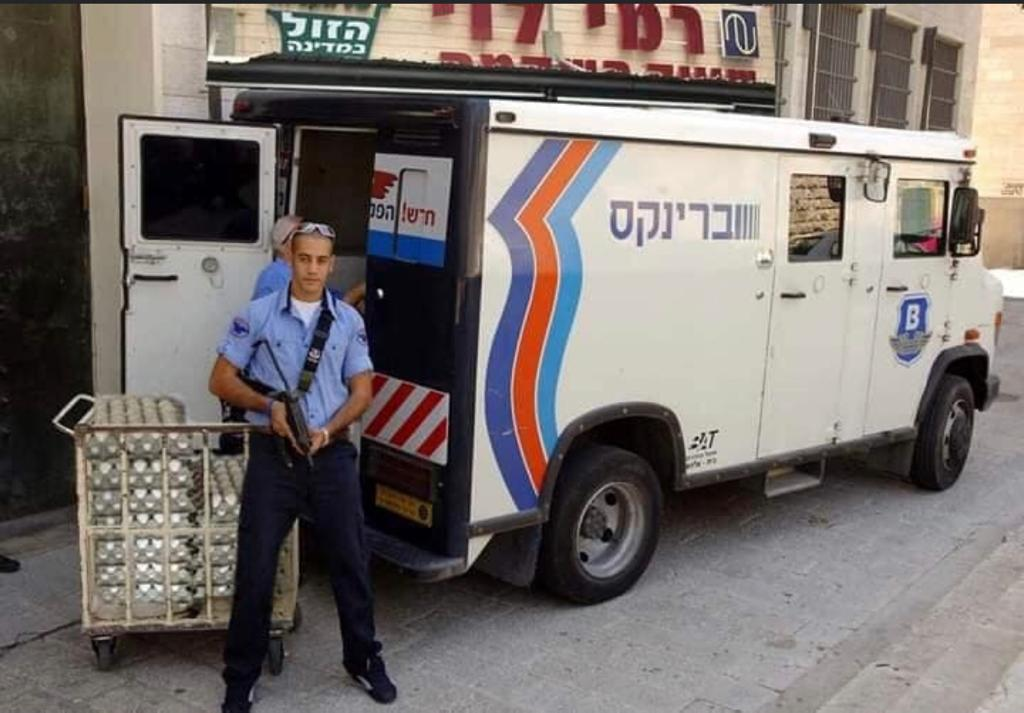 Meme with Eggs next to Brinks truck in Israel during corona egg shortage