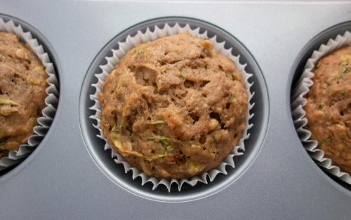 zucchini muffin gems