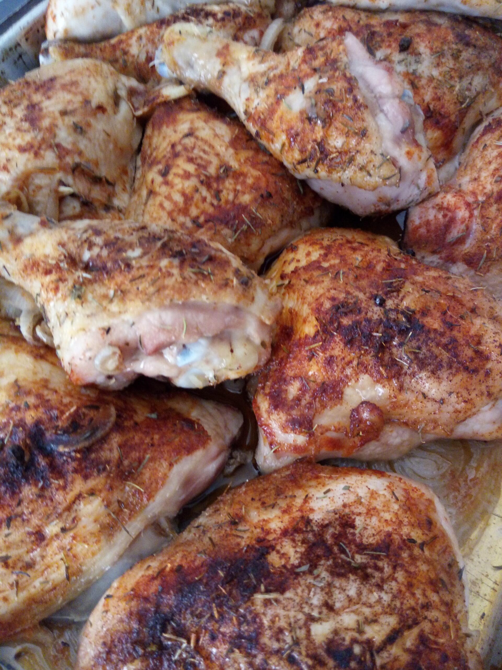 Heimishe paprika chicken