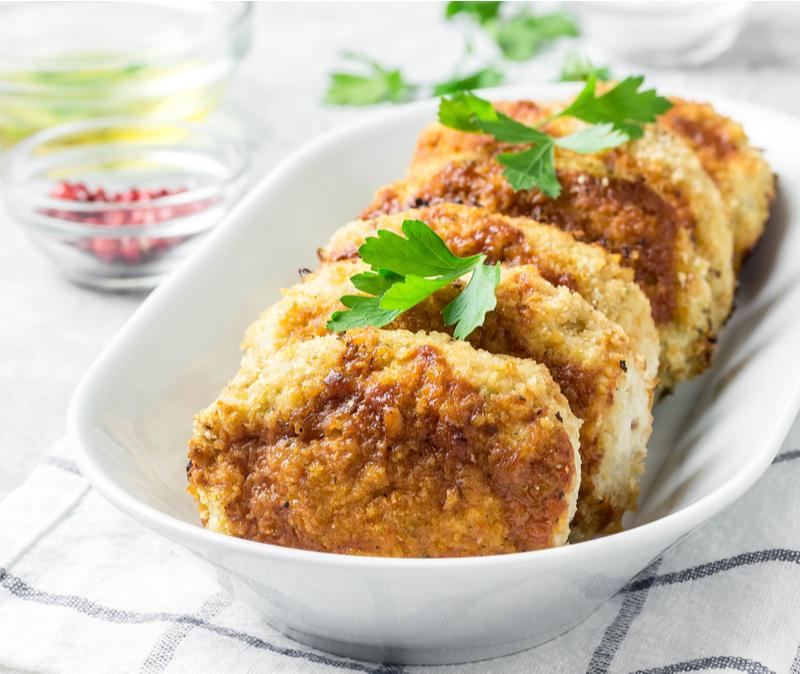 easy keto chicken patties