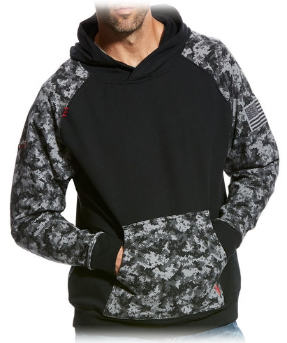 Ariat Black Digital Men's Hoodie