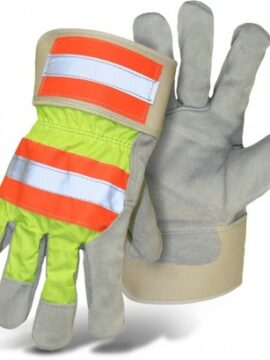Boss High-Vis Leather GLoves