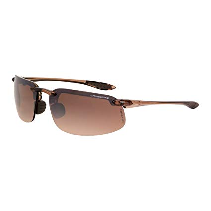 Crossfire Brown Mirror Safety Glasses