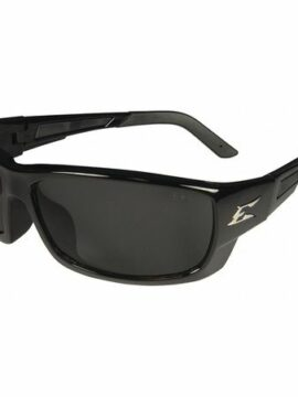 Edge Black Smoke Safety Glasses