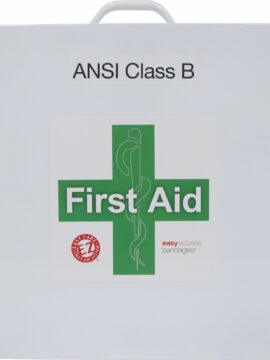 3 Shelf Class B Metal First Aid Station