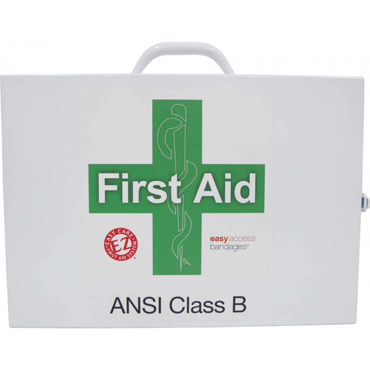 2 Shelf Class B Metal First Aid Station