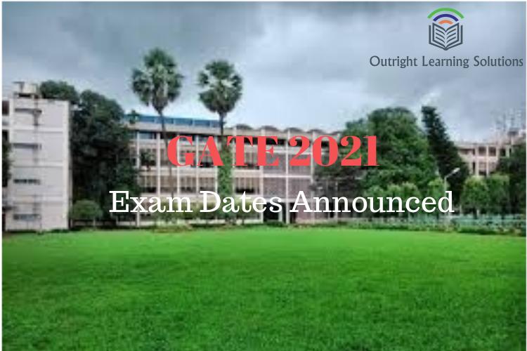 GATE 2021 Exams Dates