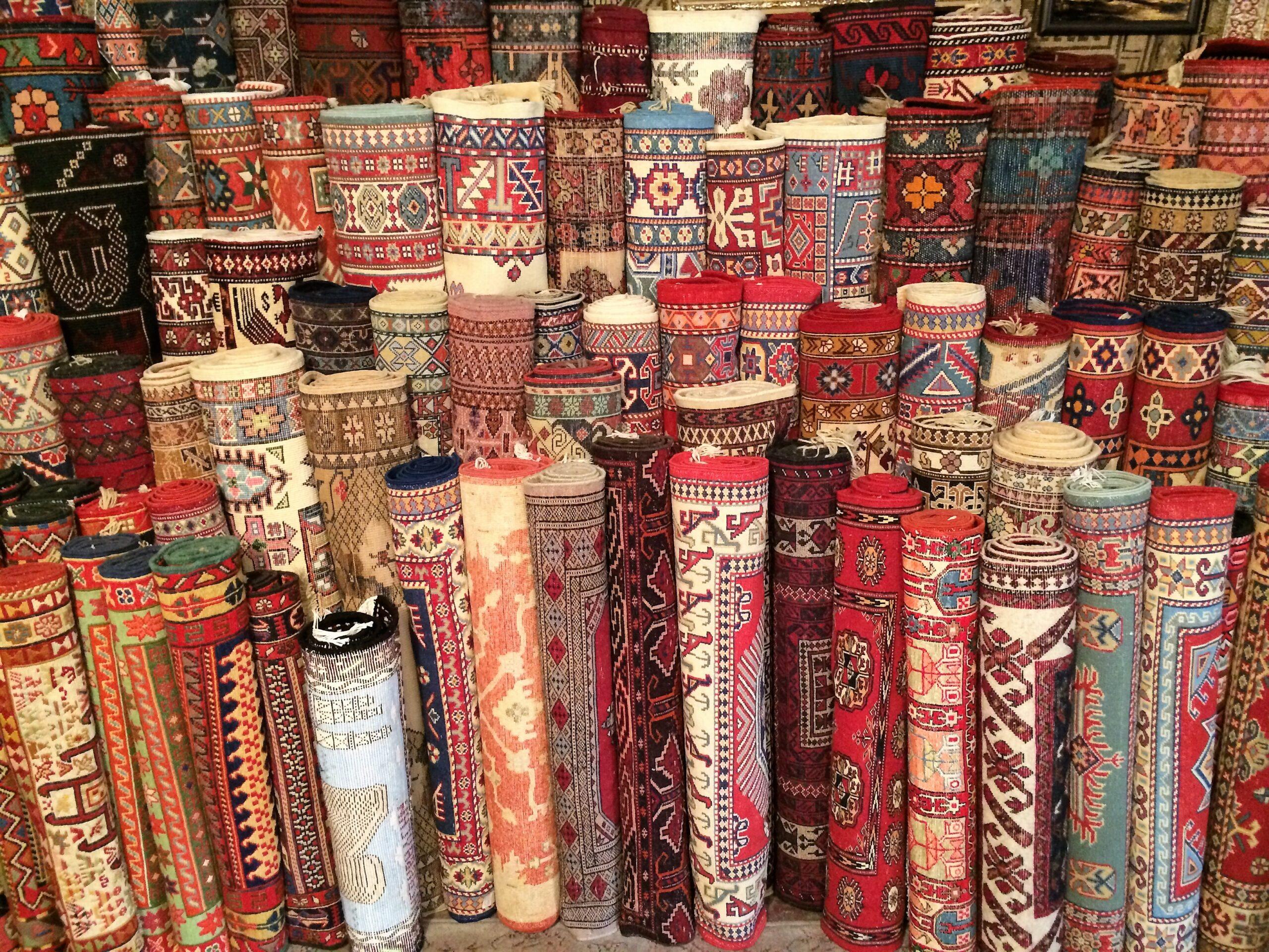 Carpets in Baku, Azerbaijan