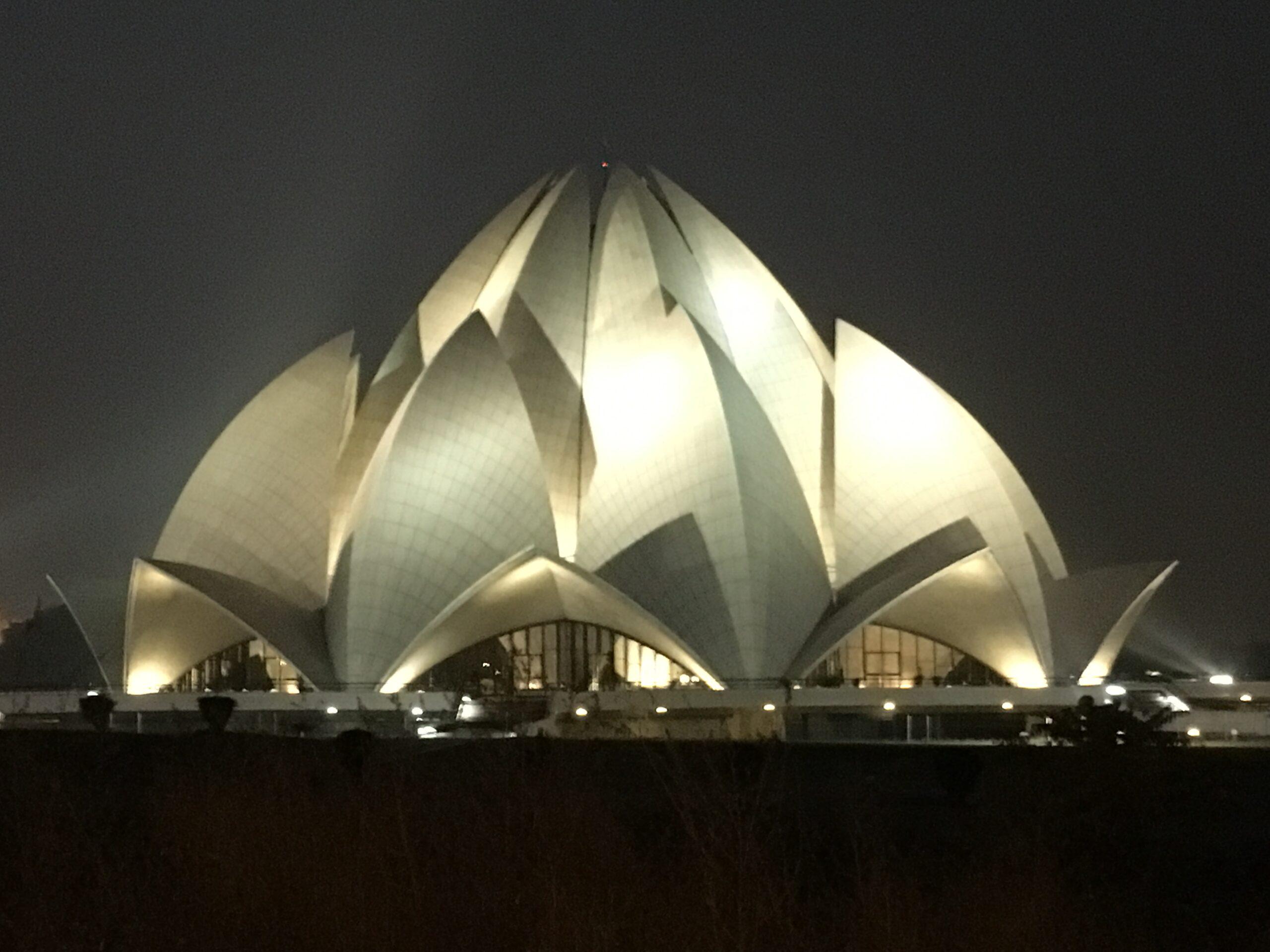 India Lotus Temple Delhi
