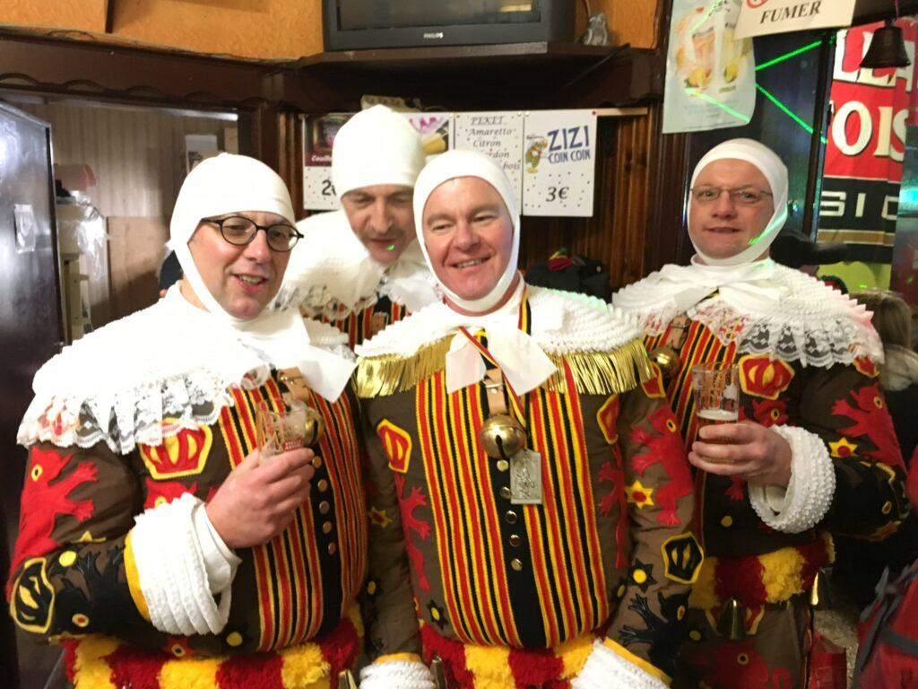 Gilles Binche, Belgium carnival