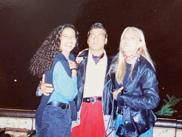 Felicia, Pino and Ang in Florence, Italy