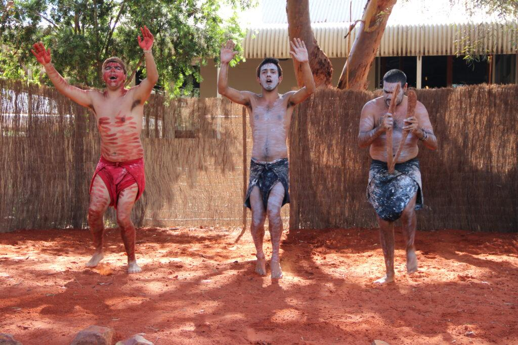 Aboriginal Australian traditional dance