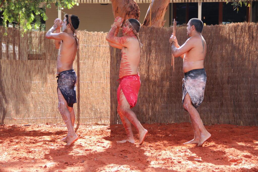 Aboriginal Australian dancers