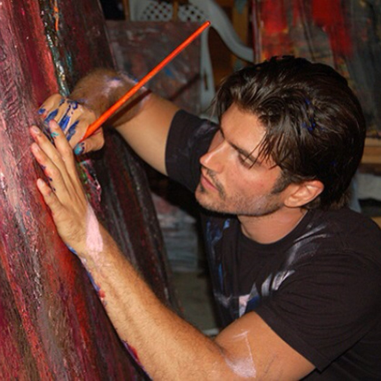 Andrew Levitas Painting