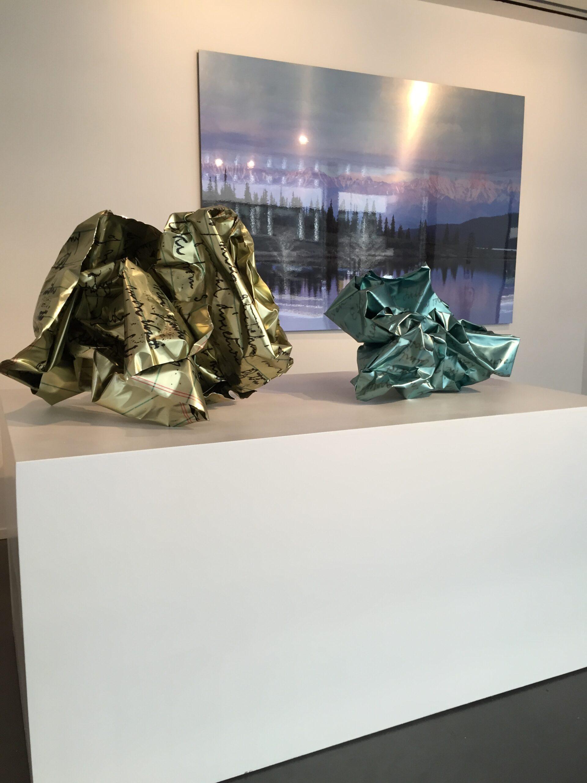 Metalwork Sculptures® Crumples