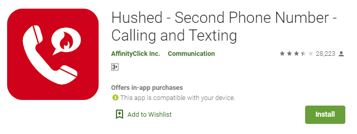 Hushed Anonymous Phone Numbers