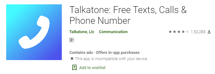 Talkatone app download for android