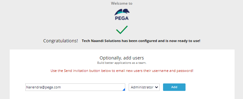 How To Create a sample application in Pega personal edition