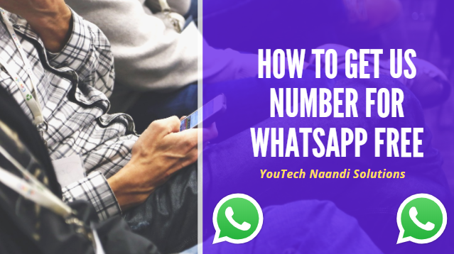 How to geta US Number for WhatsApp free - Tech Naandi Solutions