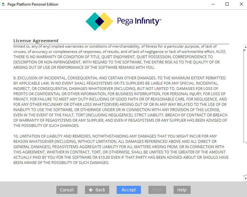 How to install Pega Personal Edition