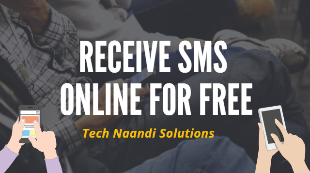 Receive SMS online for verification