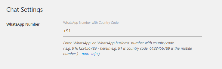 add whatsapp chat to wordpress website