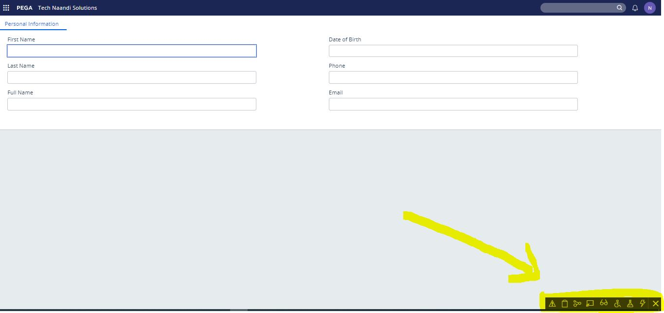 How to hide runtime toolbar from user portal