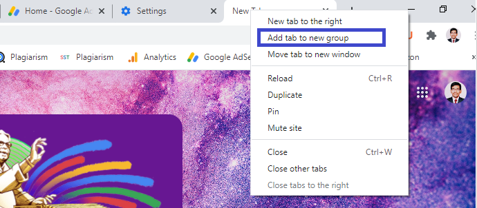 How to Change the Tab Colors in Google Chrome