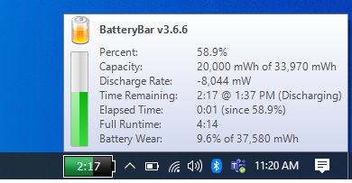 How to display battery percentage windows 10 - Tech Naandi Solutions