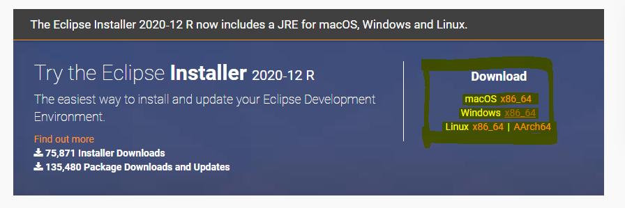 Download Eclipse IDE