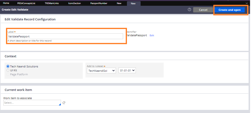 Passport Number Validation In Pega by Tech Naandi Solutions 4