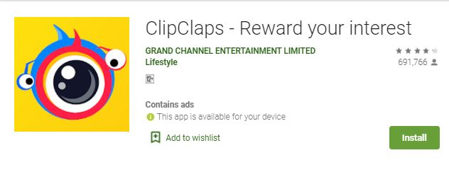 How do you make money on ClipClaps