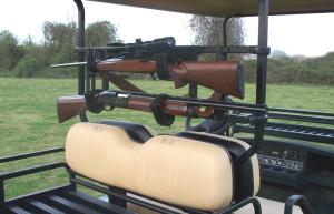 Custom Cart Power-Ride Gun Rack UVCCPR700
