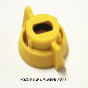 Nozzle Cap & Washer #3562