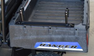 RC-1BR shown using Polaris Ranger Lock & Ride Anchors (not included-must purchase from Polaris, #2876519)