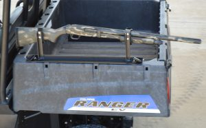 RC-1BR shown using Polaris Ranger Lock & Ride Anchors (not included, must purchase anchors from Polaris, #2876519)