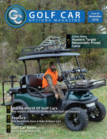 Golf Cart Cover page