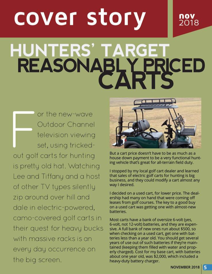 page 2 golf cart magazine