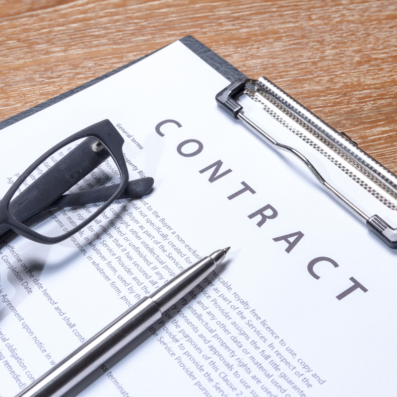introductory clauses of a contract
