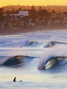 Oceanside Surfing