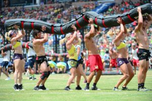 Behind the scenes at the Crossfit Games